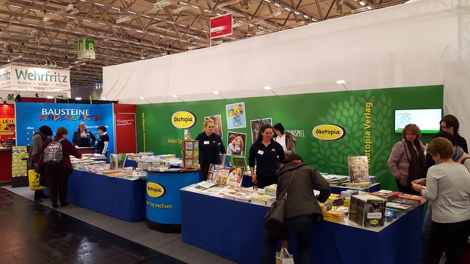 Ökotopia Verlag Messestand